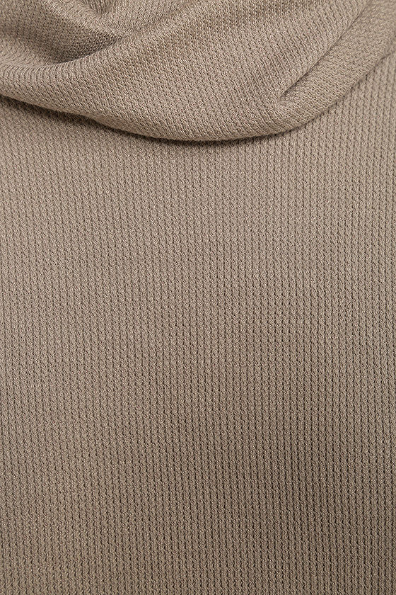 Scheme of Things Taupe Long Sleeve Dress 7