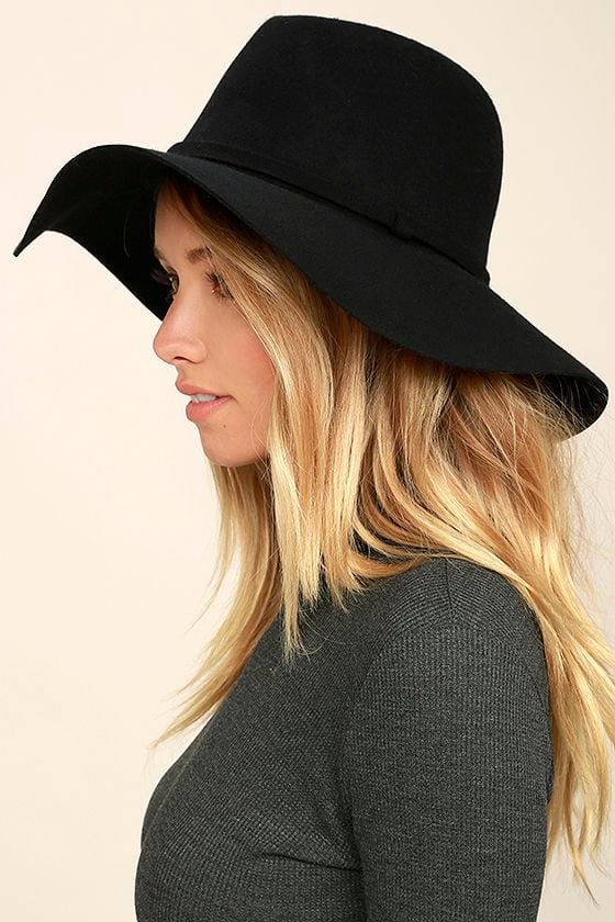 Wishing on a Star Black Fedora Hat 2