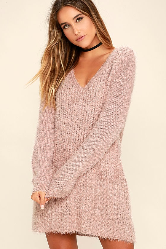 good mauve sweater outfits 12