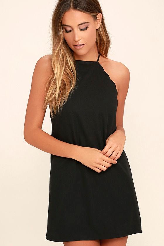 Endlessly Endearing Black Dress 1
