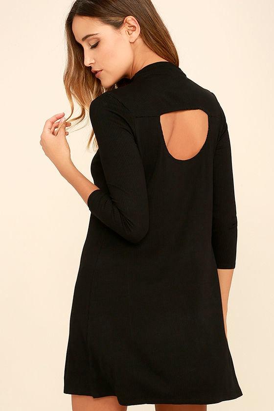 RVCA Lasso Black Dress 1