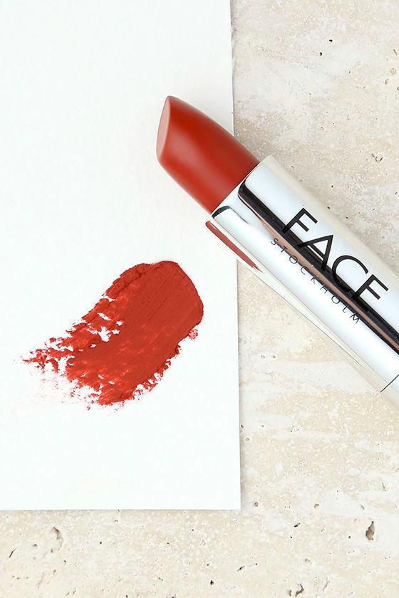 FACE Stockholm Brick Red Matte Lipstick 1