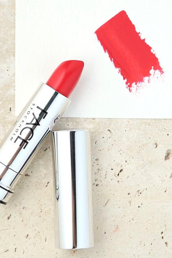 FACE Stockholm Sangria Bright Red Matte Lipstick 1