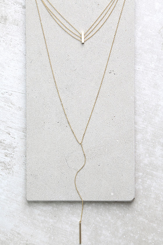 Our Song Gold Layered Choker Necklace 1