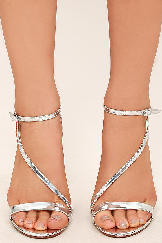 Toulouse Silver Dress Sandals 2