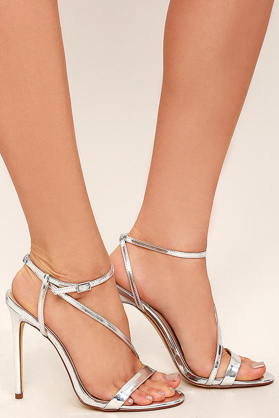 Toulouse Silver Dress Sandals 3