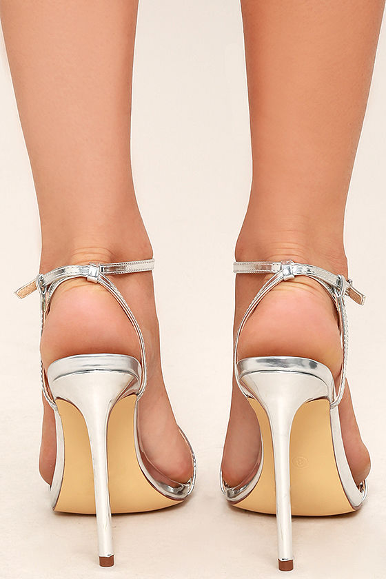 Toulouse Silver Dress Sandals 4