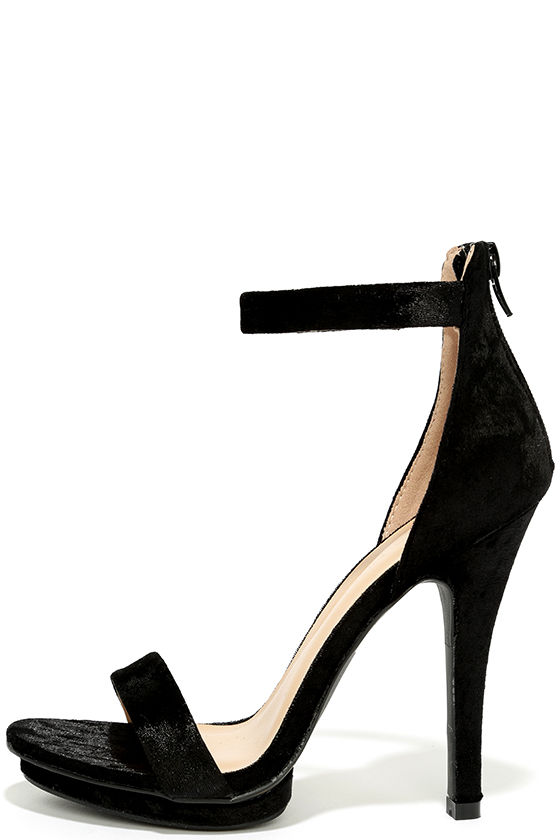 Tamaris High heeled sandals - black H2G3Nd92I3