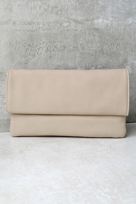 My Love is Your Love Light Blush Clutch 1