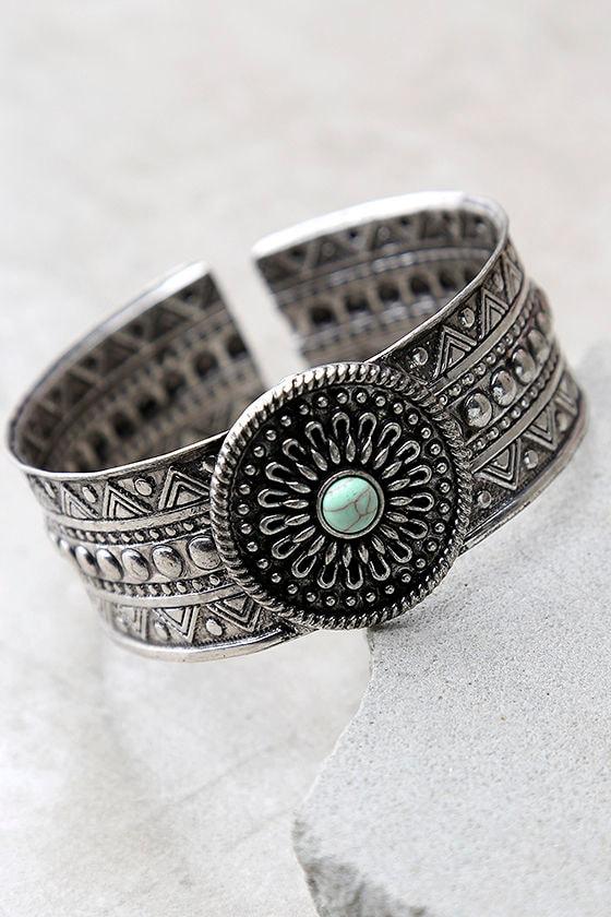 She's Got Soul Silver Cuff Bracelet 1