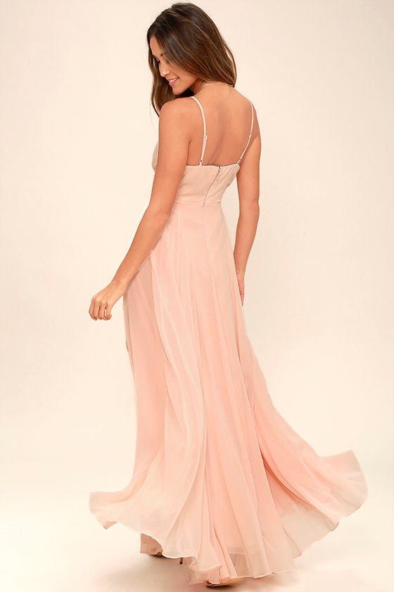 All About Love Blush Pink Maxi Dress 3