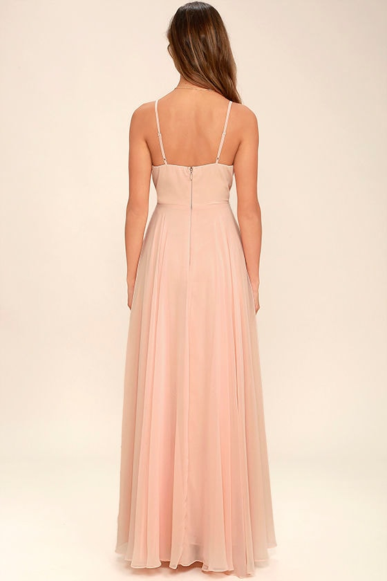 All About Love Blush Pink Maxi Dress 4