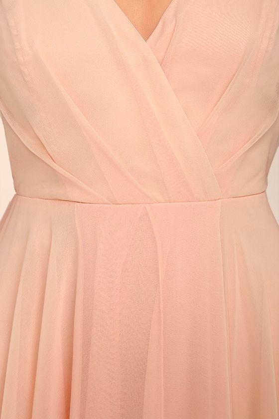 All About Love Blush Pink Maxi Dress 6