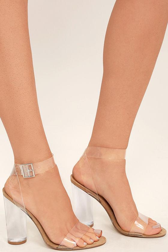 steve madden clearer heels clear heels lucite heels. Black Bedroom Furniture Sets. Home Design Ideas