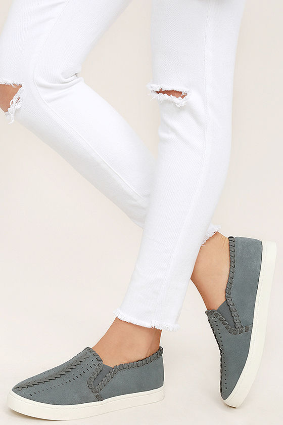 Report Asyun Sneakers - Grey Slip-On