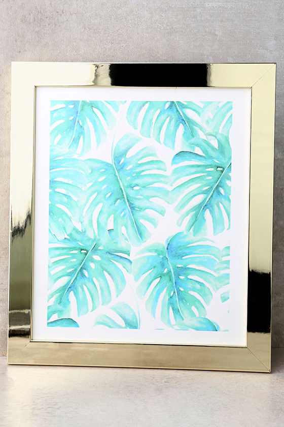 DENY Designs Paradise Palms Framed Wall Art 1