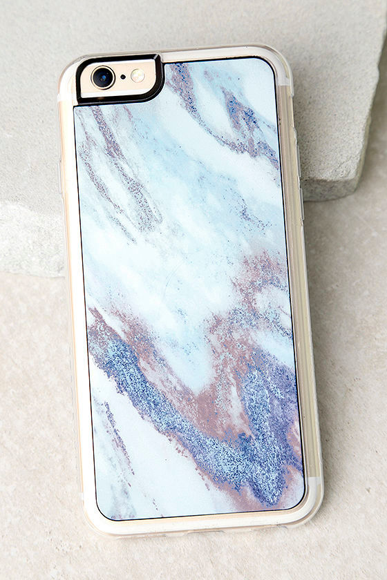 on sale 9a26f ff21d Zero Gravity Drift Blue Marble Print iPhone 6 and 6s Case
