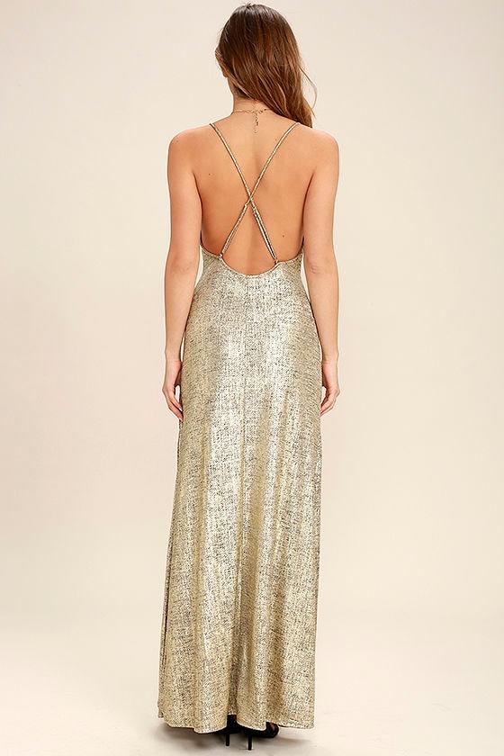 Disco maxi dress