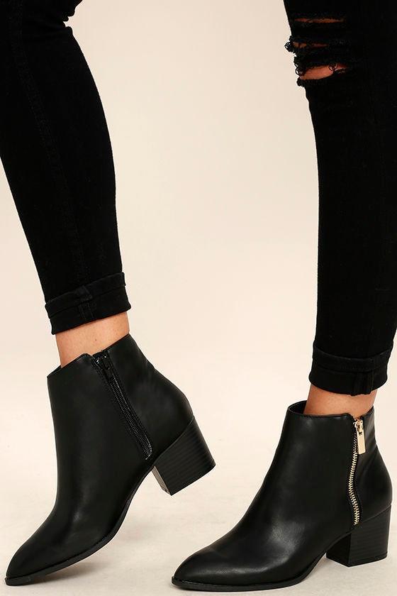 Black Heels for Juniors