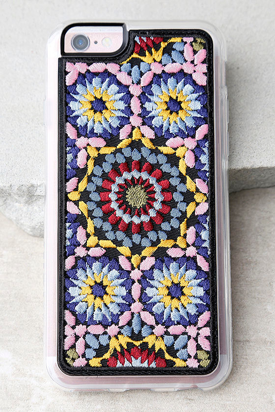 Zero Gravity Casbah Multi Embroidered iPhone 6 and 6s Case 1