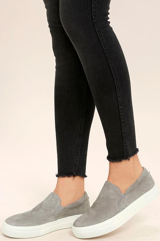 Lulus Gills Suede Leather Flatform Sneakers - Lulus VpDu3yig