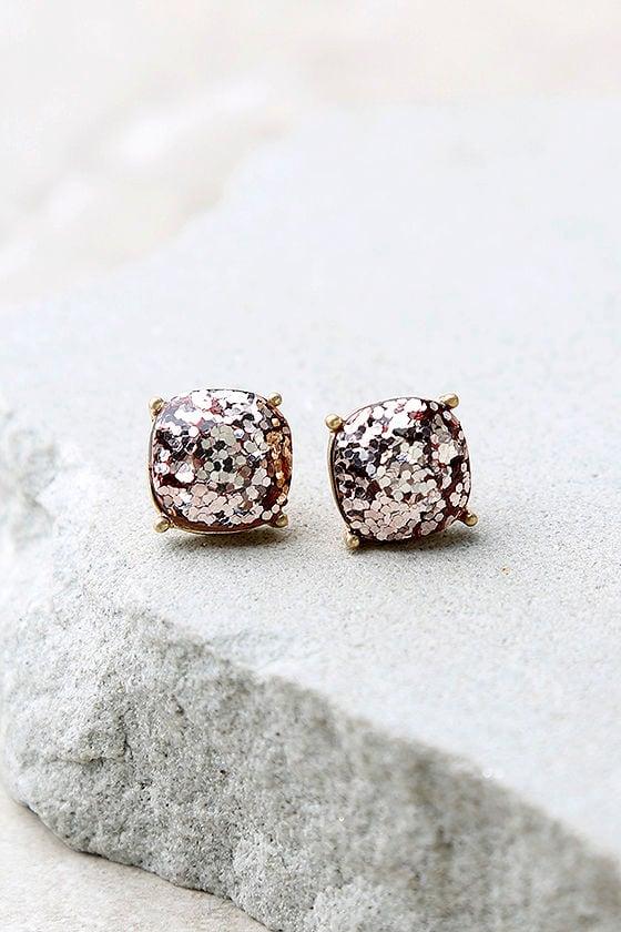 Sparkling Reputation Pink Earrings 1