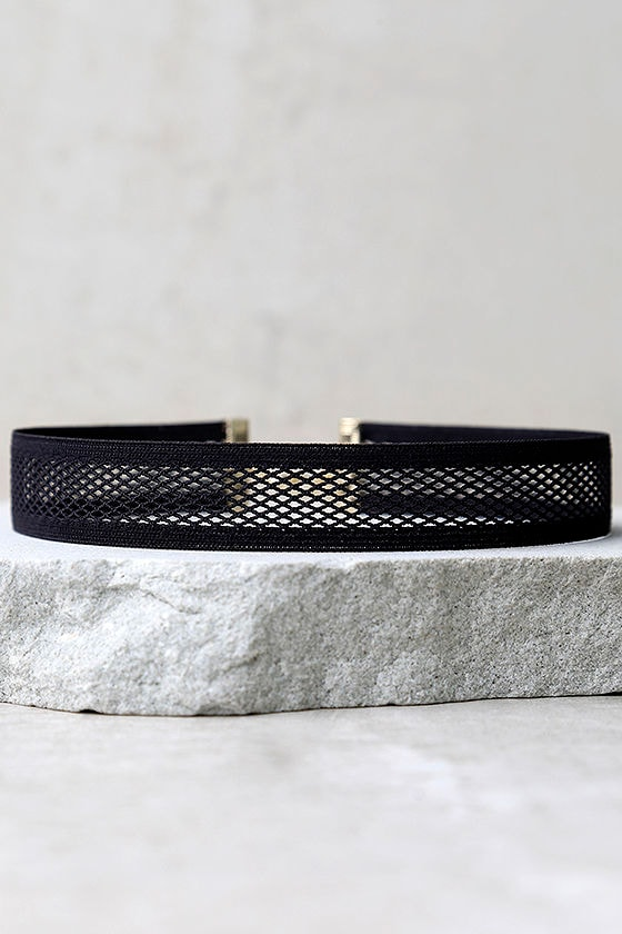 Get Right Black Choker Necklace 2