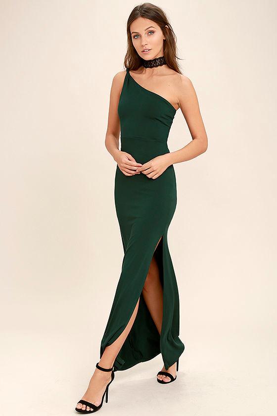 One Side Dresses