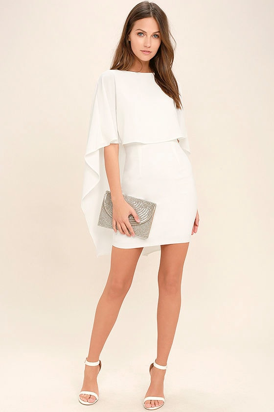 Best is Yet to Come White Backless Dress 2