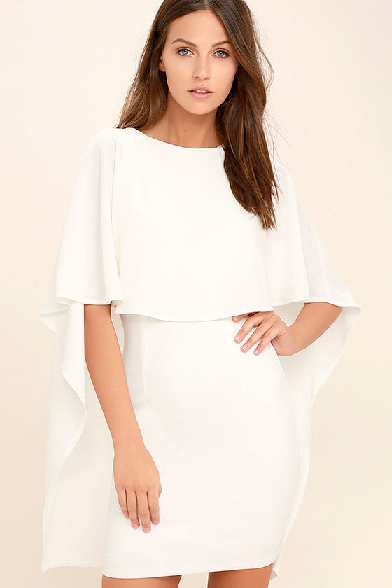 Best is Yet to Come White Backless Dress 3