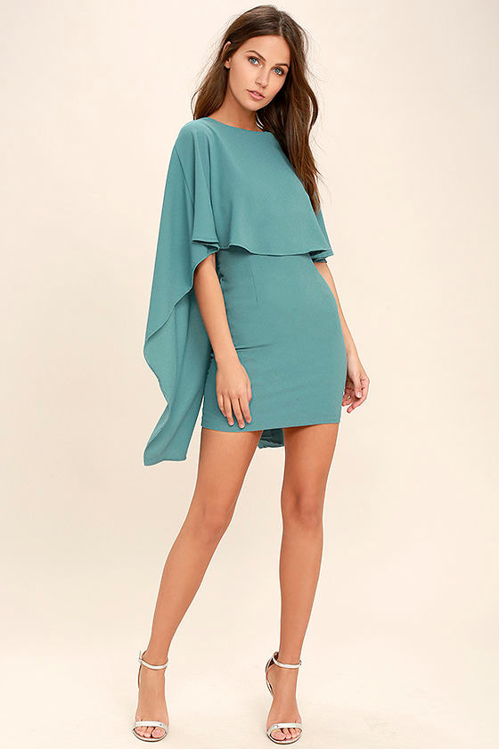 Best is Yet to Come Turquoise Blue Backless Dress 2