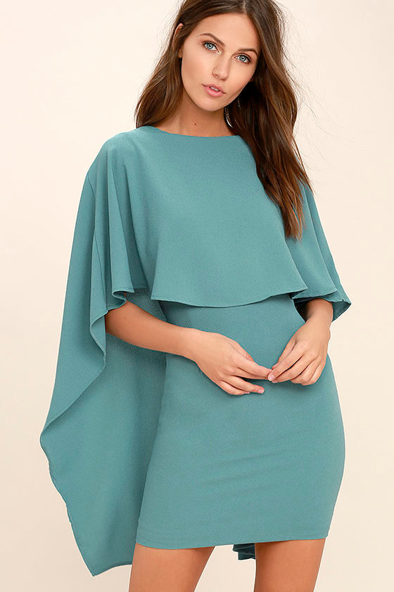 Best is Yet to Come Turquoise Blue Backless Dress 3
