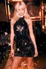 Sexy Sequin Dress Black Sequin Dress Halter Dress Bodycon