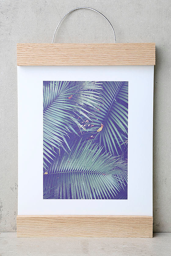 DENY Designs Rainforest Floor Art Print and Hanger 1