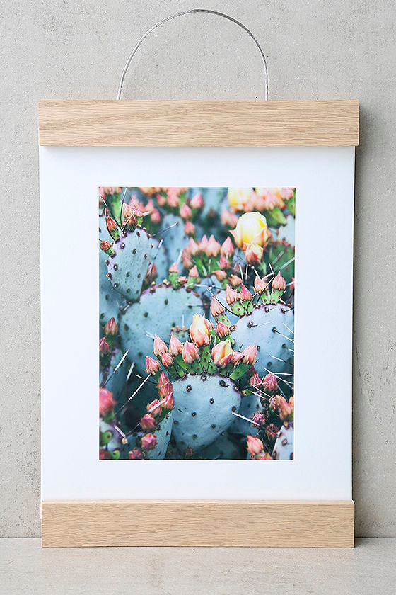DENY Designs Prickly Pear Art Print and Hanger 1