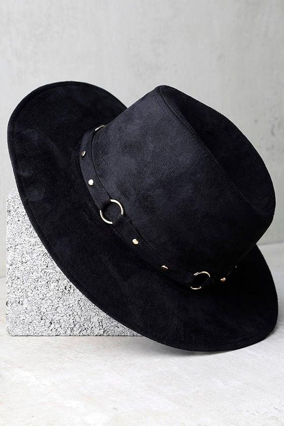 Gone Rogue Black Fedora Hat 3