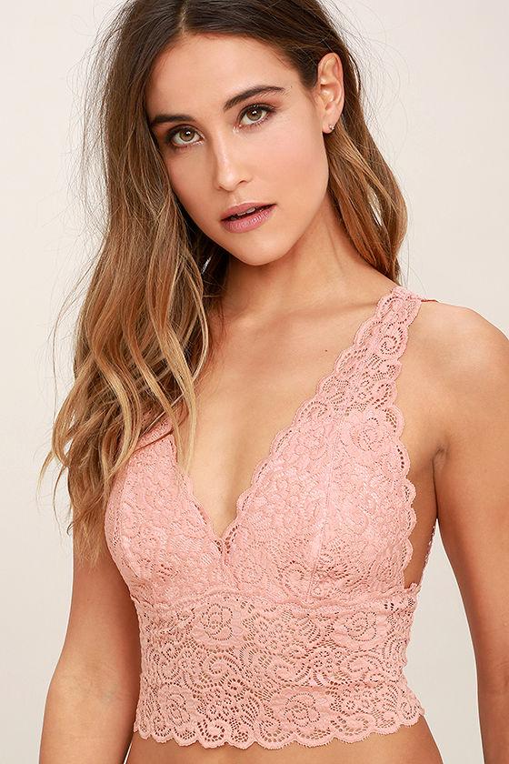 146a900777e0f Sexy Peach Bralette - Lace Bralette -  19.00