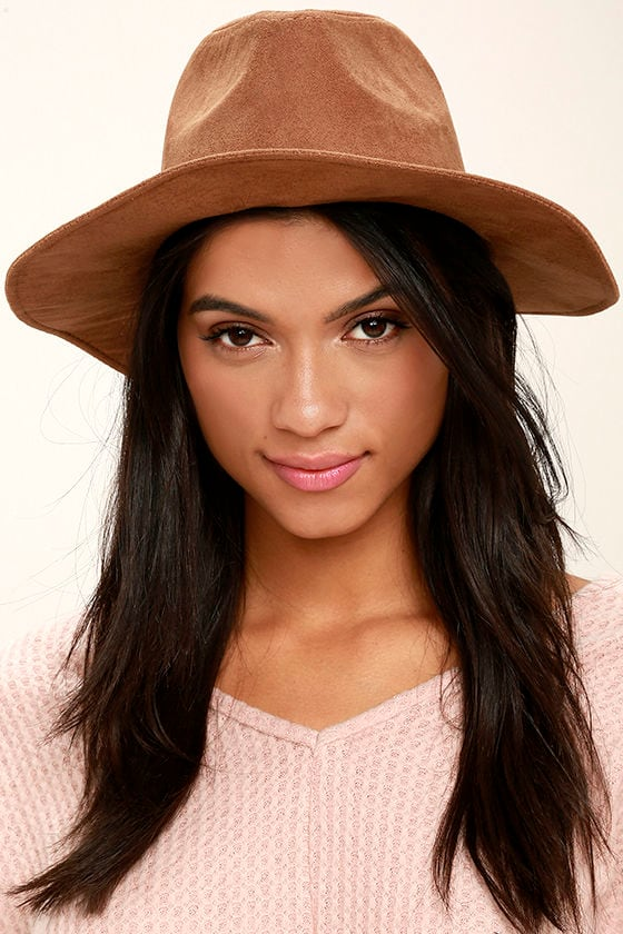 Gone Rogue Tan Fedora Hat 1