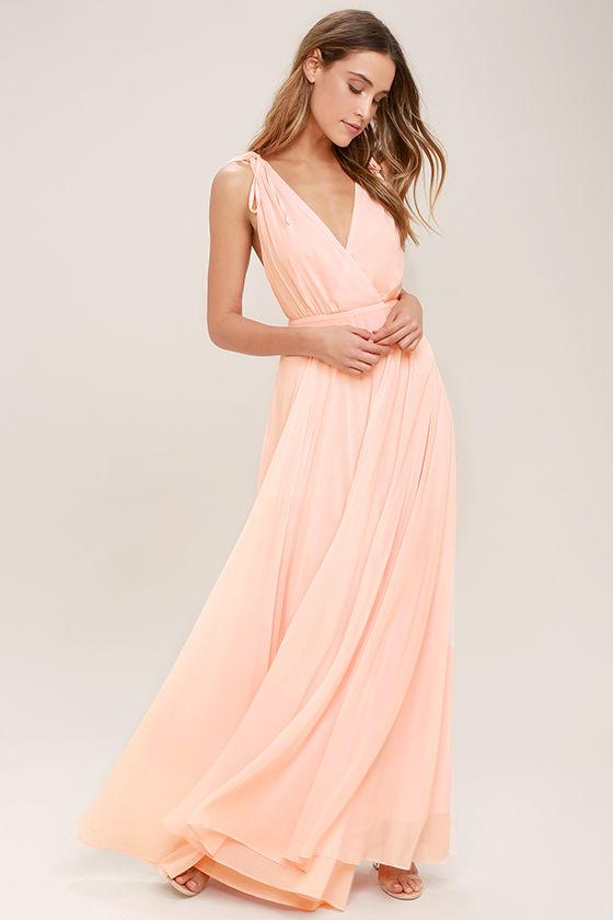 Galerry casual blush maxi dress