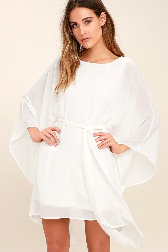 Heavenly Being White Kaftan Dress 1