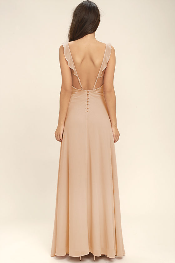 Rise maxi dresses