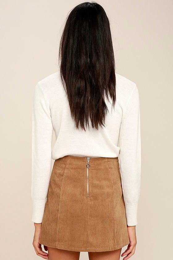 Brown Corduroy Skirt 15