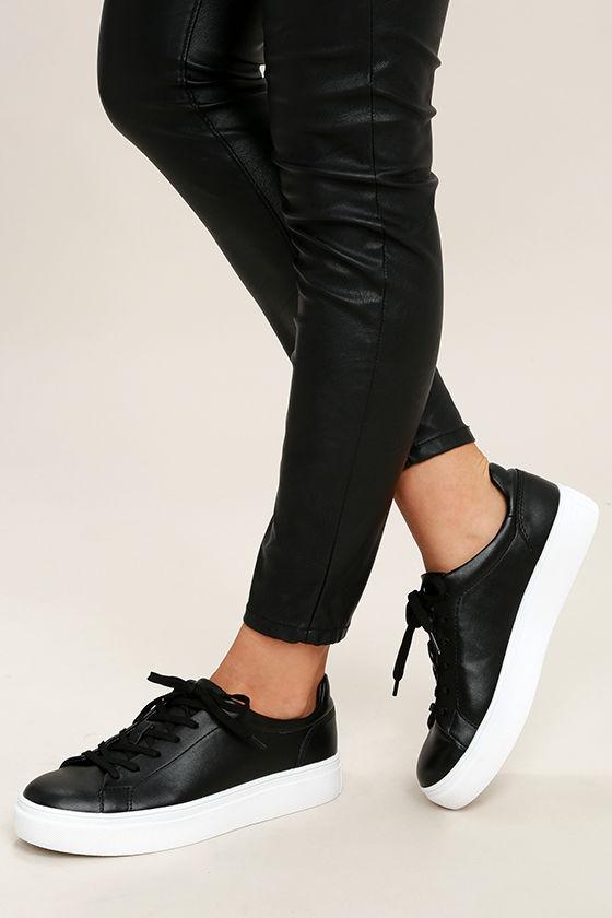 Madden Girl Kitten - Black Sneakers