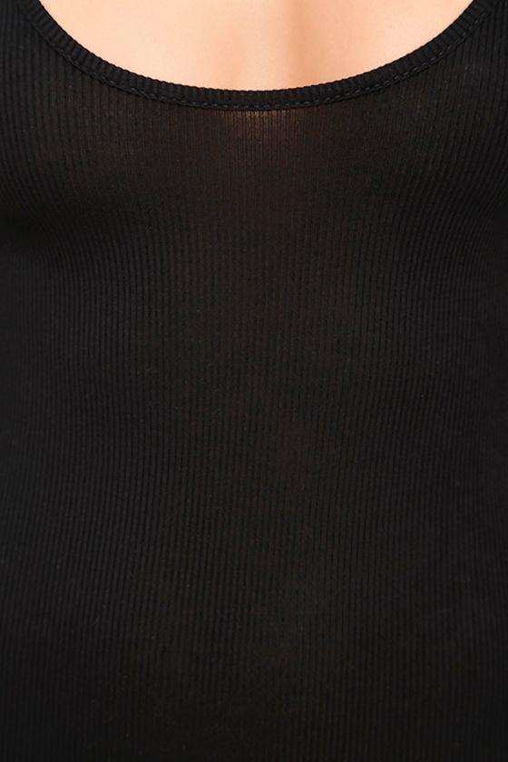 Everyday Inspiration Black Long Sleeve Bodysuit 7