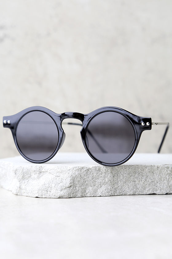 Spitfire Nexus Black Round Sunglasses 3