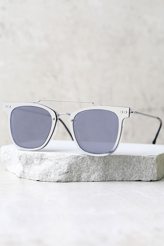 Spitfire FTL Black and Silver Mirrored Sunglasses 2