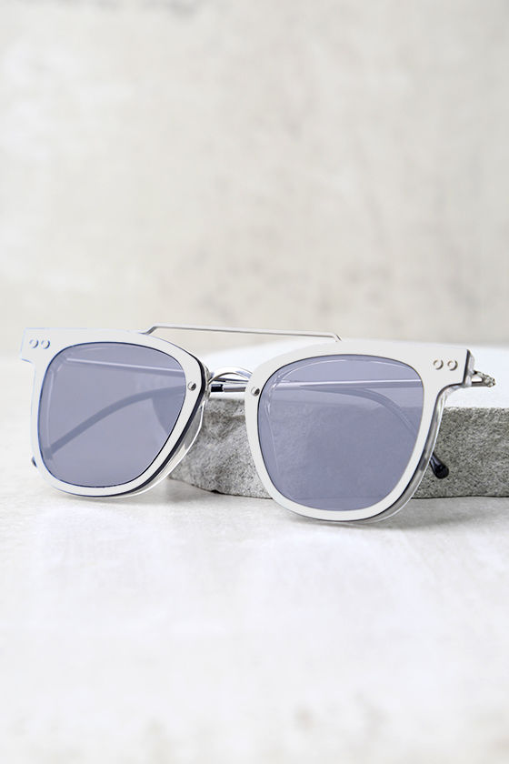 Spitfire FTL Black and Silver Mirrored Sunglasses 3