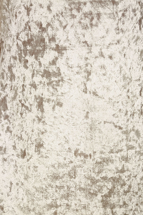 Wind it Up Grey Velvet Slip Dress 6