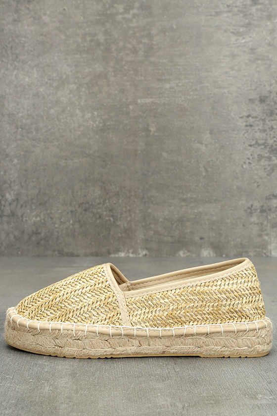 Dirty Laundry Emilio Natural Espadrille Flats 1