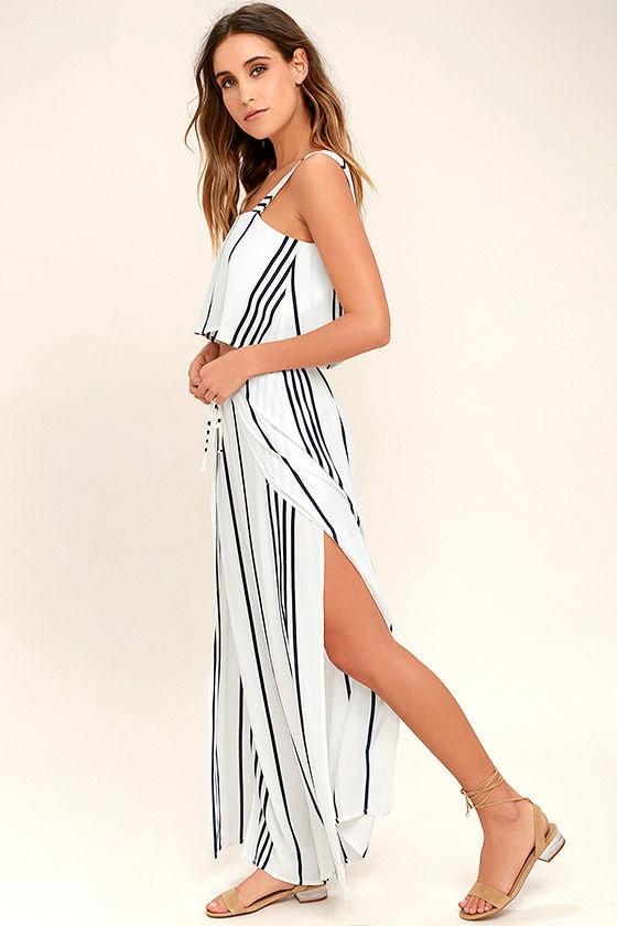 Faithfull the Brand Montero Black and White Striped Pants 2